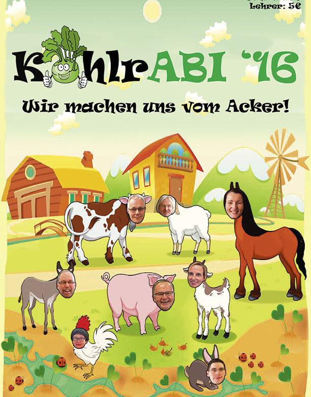 Druckprodukt Abibuch Freiherr-vom-Stein Schule Fulda 2016
